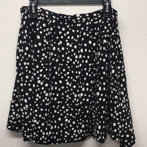 Forever 21 Polka Dot Skirt